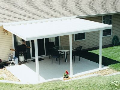 what are your patio cover building material options - How To Build A Patio Cover